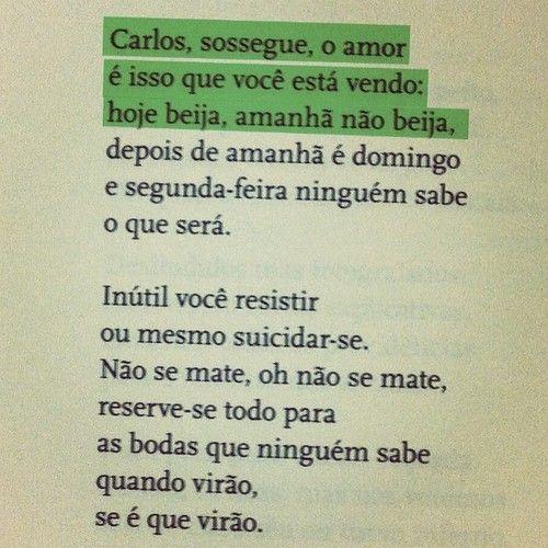 Antologia Poética. Carlos Drummond de Andrade