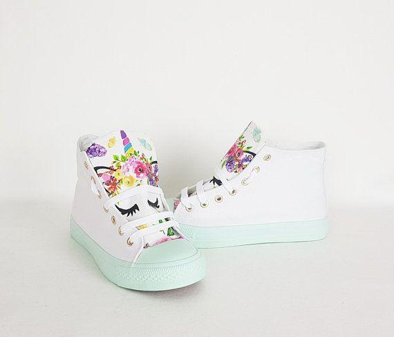 Unicorn shoes, unicorn gift, boho shoes