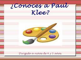 paul klee para niños - Buscar con Google