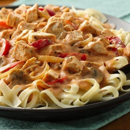 Cajun Chicken Fettuccine: recipe, pasta