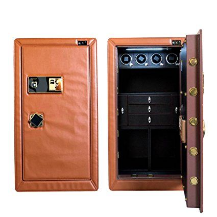 Home portaoggetti per orologio Safe box Fingerprint password–cassaforte per orologi e gioielli regalo di lusso automatico