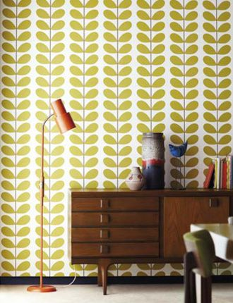 Shop - Classic Stem: Leaf | Annandale Wallpapers