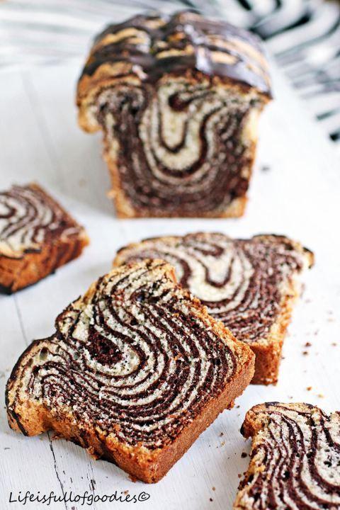 Zebrakuchen Rezept   #Küchenplaushc #Rezept