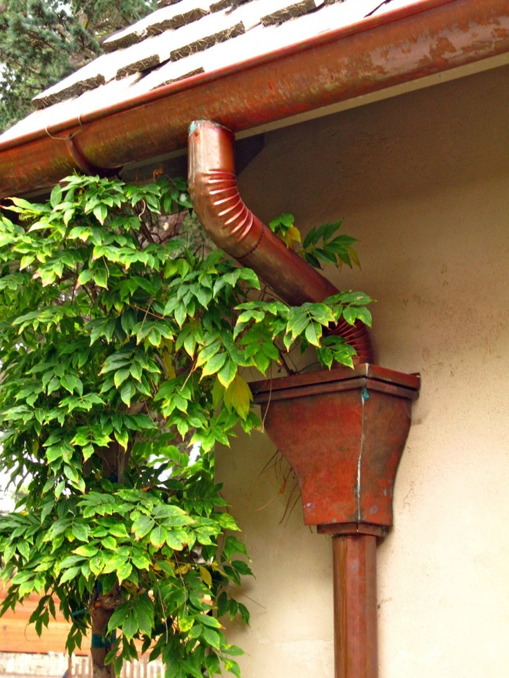1000 Images About Gutters On Pinterest Copper Whistler