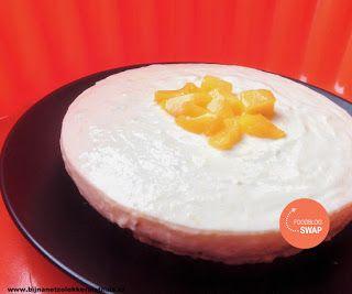 bijnanetzolekkerals thuis maakte een yoghurttaart met havermoutbodem van anita's potjes en pannen