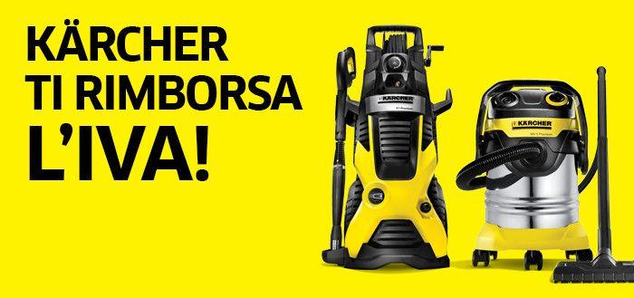 Karcher rimborsa l'IVA   Work Shop Italy: ferramenta online, utensili professionali