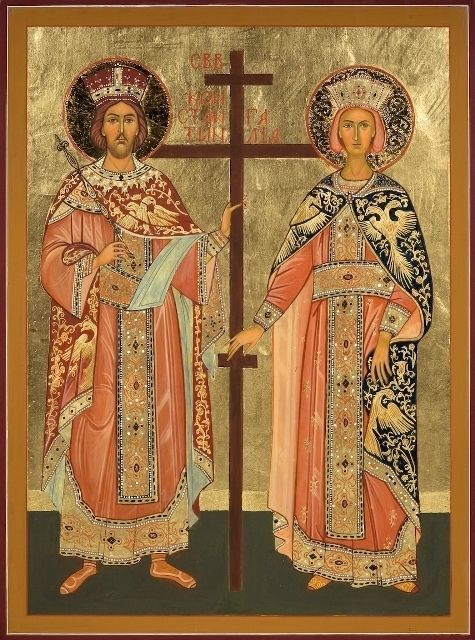 St. Helen and St. Constantine | Mobile Artwork Viewer