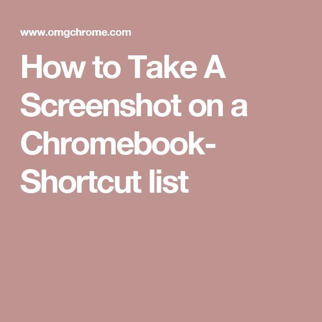 How do you do a screenshot?