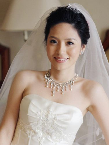 very wed - taiwan asian wedding hair