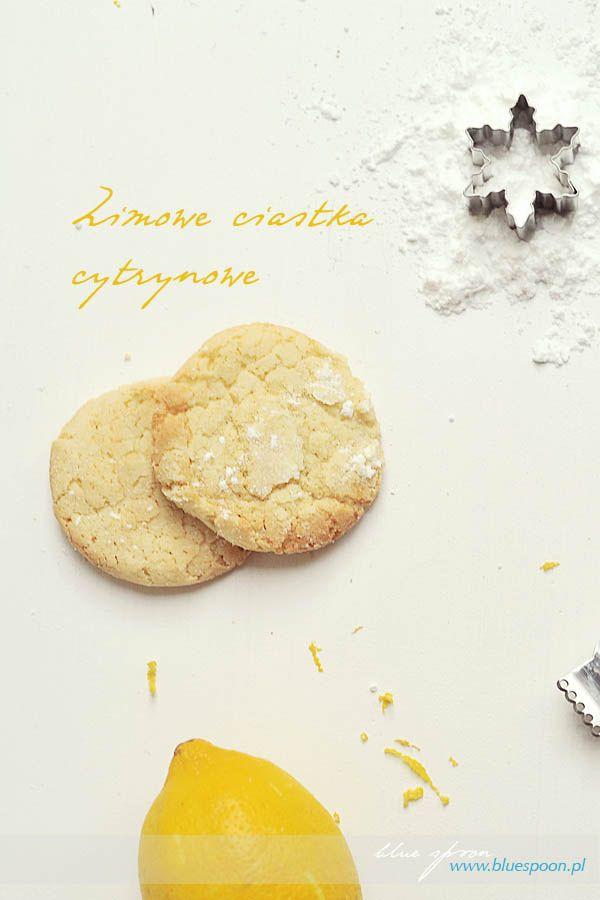 Cytrynowe ciasteczka zimowe