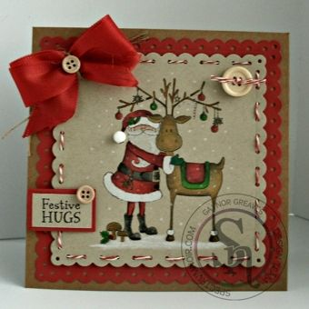 Crafters Companion Nordic Christmas Stamps & Folders 5