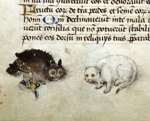 Miniatura tratta da Libro d'Ore (1475-1485 circa), British Library, Londra.