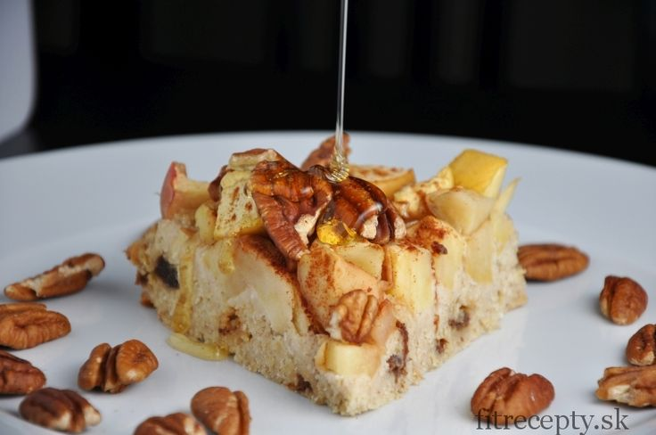 Jablkovo-ovsený koláč - FitRecepty