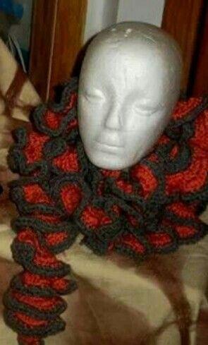 MegaFly Ruffle scarf by BuddhaFly Wear