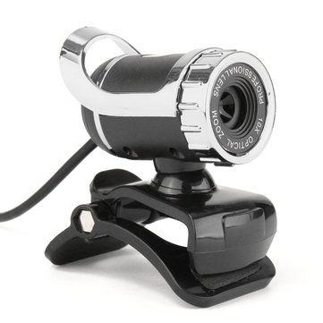 HD Auto White Balance 12M Pixels Webcam with Mic Rotatable Adjustable Camera for PC Laptop Sale - Banggood.com