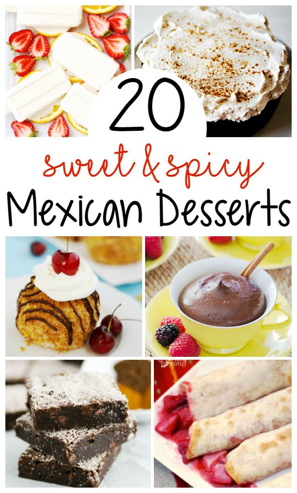 Mexican recipes desserts easy and quick