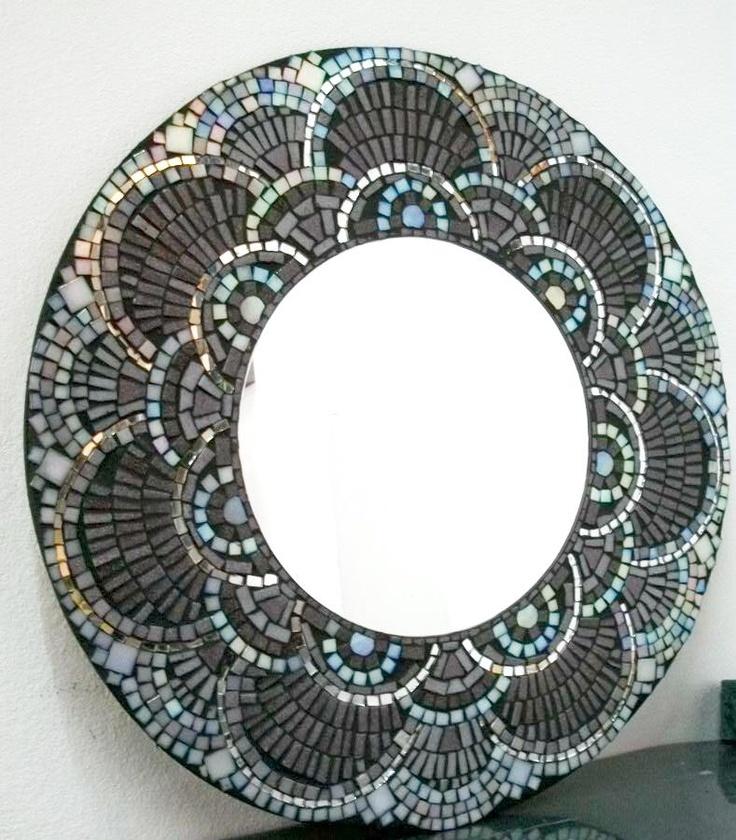 """By """"Mosaicos Maria Rita Sequeira""""ESPEJO EN VITROMOSAICO"""