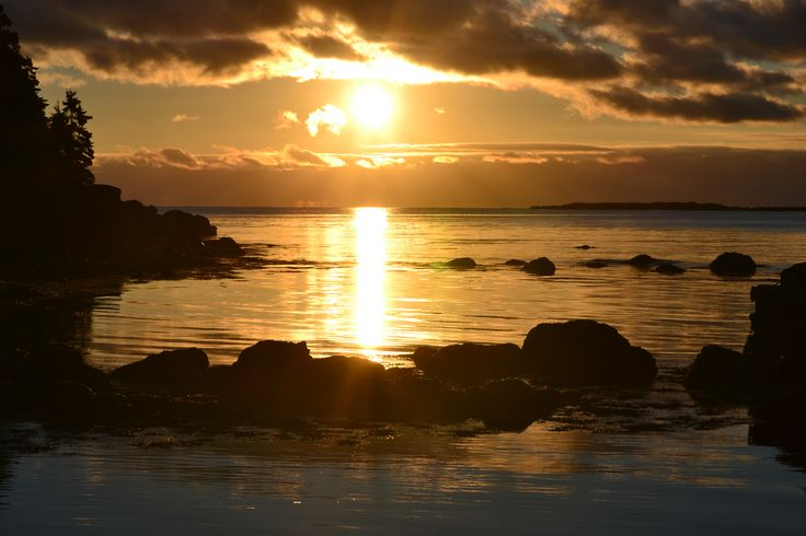 Sunrise at Pondville Beach, Nova Scotia, my favorite place in the whole world.