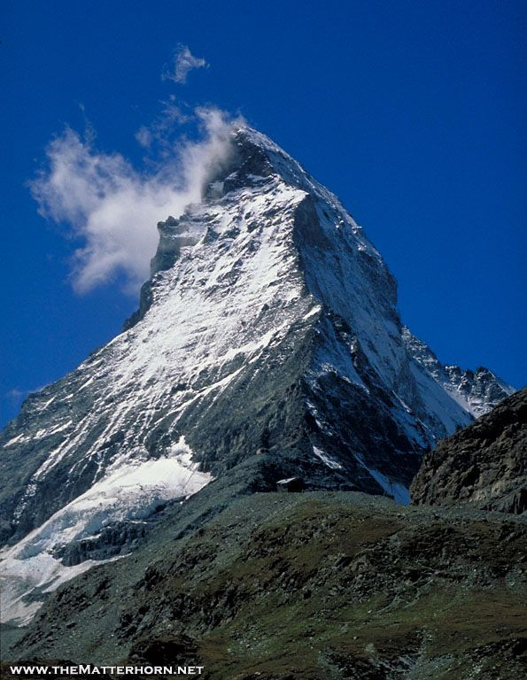 The Matterhorn (the real thing). I would love to see someday!