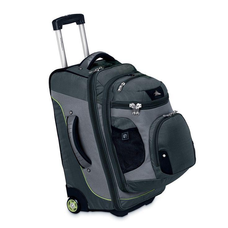 "High Sierra 22"" Wheeled Backpack (Graphite/Titanium/Spring)"