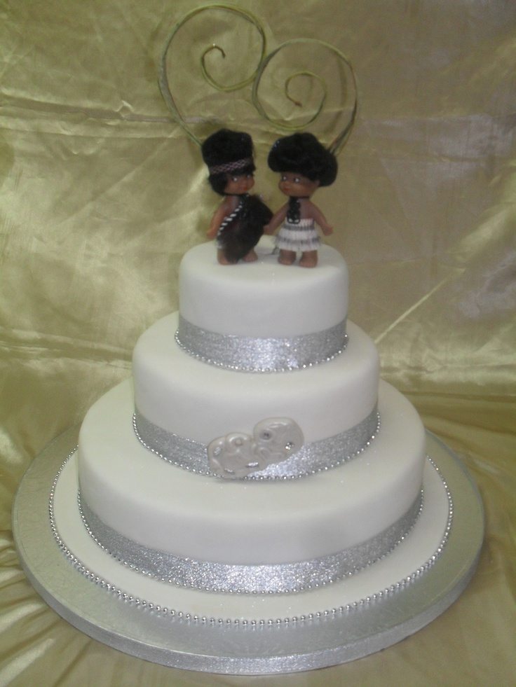 Special Wedding Cake Made For A Special Client With Maori