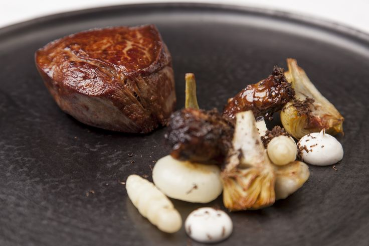SOUS VIDE BEEF FILLETS WITH BRAISED OXTAIL AND ARTICHOKES - If you're looking for challenging beef recipe to use with your sous vide water bath we think you will love this dish from Great British Chef Nigel Mendham.