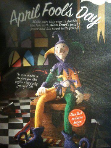 Knitting Toys Magazine : April fool s day toy knitting pattern by alan dart simply