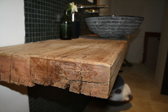 Recycled Ironbark Benchtop