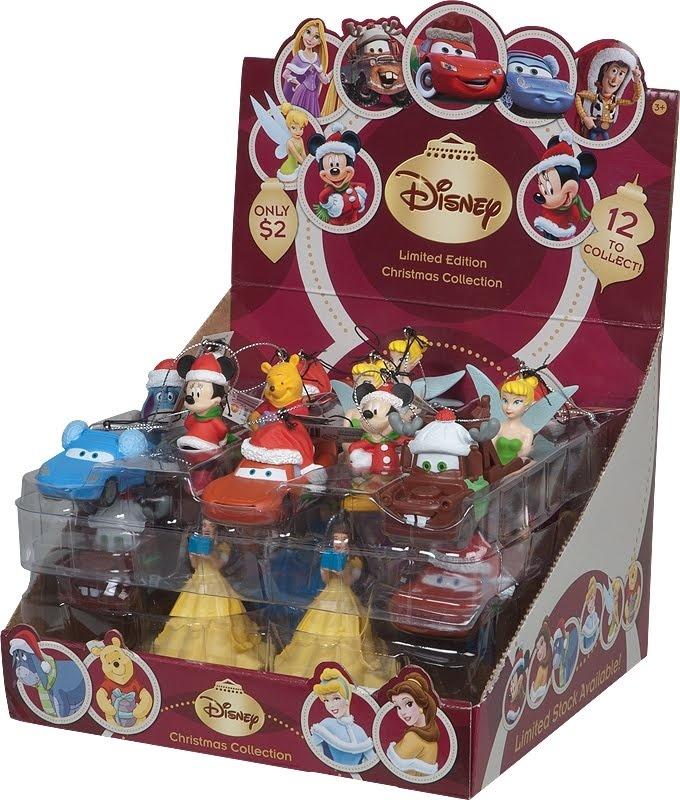 Coles Disney Christmas Decorations!
