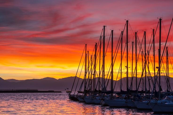 Boats, Cagliari, Italy