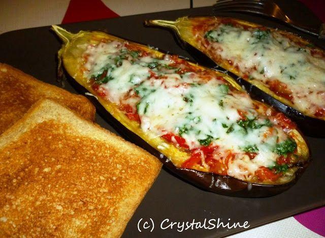 Vinete umplute cu legume, la cuptor / Baked eggplants with vegetables