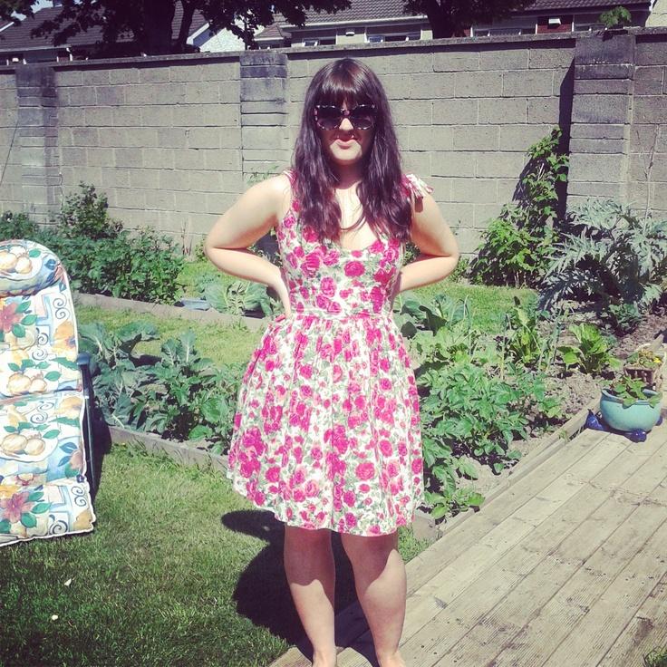 loving this summer dress
