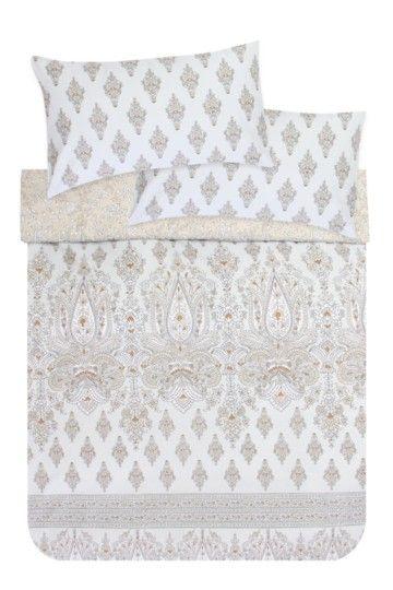 Indian Block Printed Duvet Cover Set