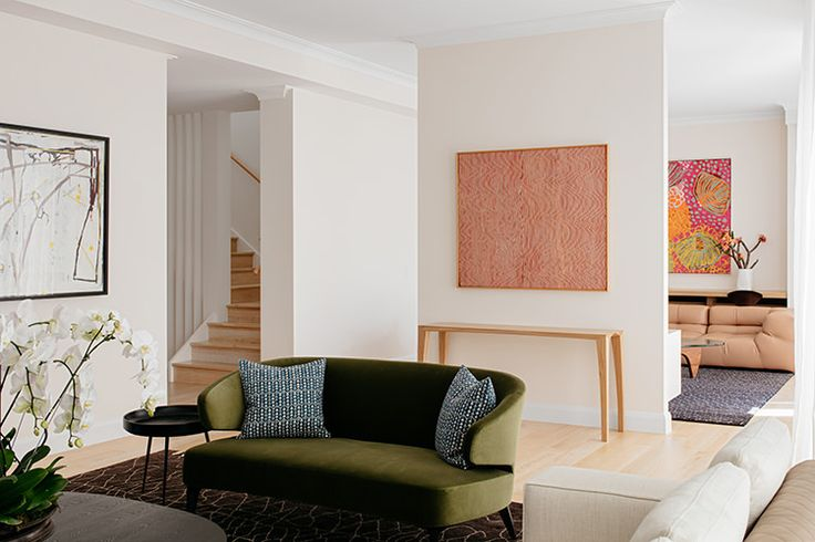 In/Out: Bellevue Hill House by Arent&Pyke | LOVE THESE COLOURS