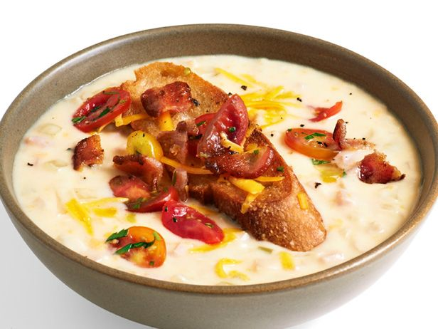 Hot Brown Soup Uses heavy cream (next time halve with fat free milk or half and half), deli ham and turkey, bacon, cheese. REALLY good, super easy, hearty, RICH.