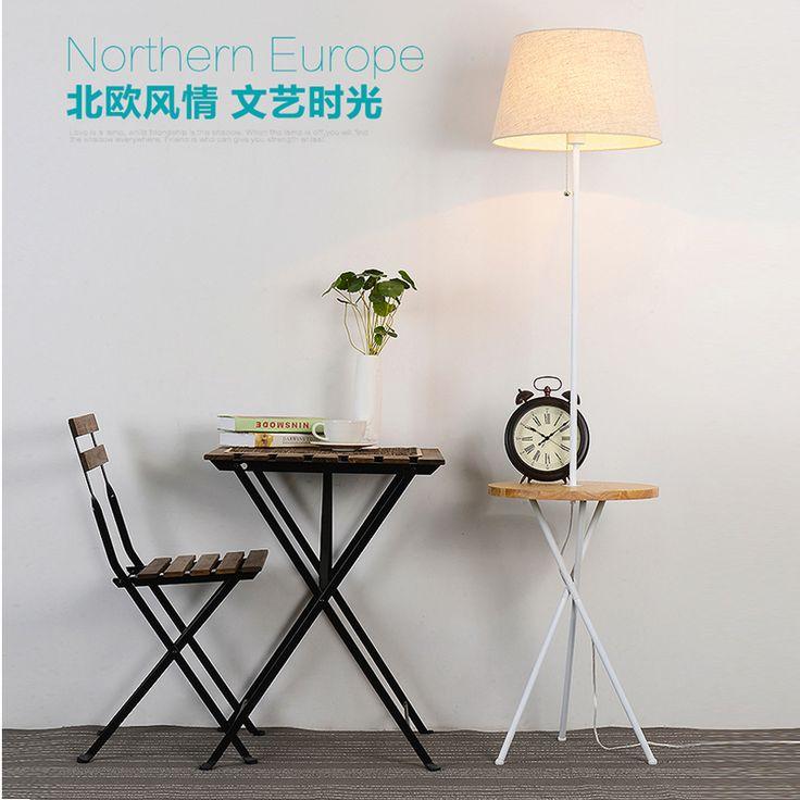 Free shipping Living room floor lamp simple modern sofa lighting creative American Scandinavian piano room vertical floor lamps