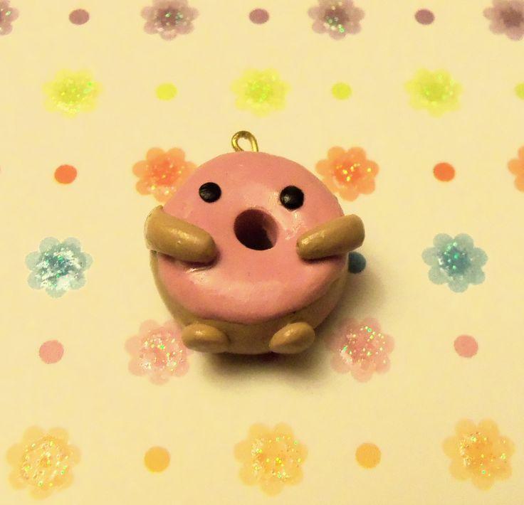 Excel gum donut  #donut #polymerclay  visit my shop on etsy! www.etsy.com/shop/TheCraftyWhale