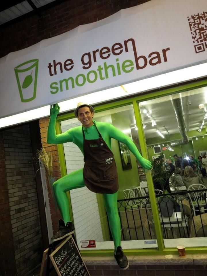 The Green Smoothie Bar