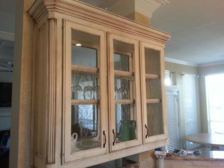 Antique glazing can change old Golden Oak to beauty.