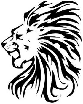 Roaring Lion Profile Tattoo 17 Best ideas a...