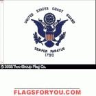 Coast Guard Flag 3x5