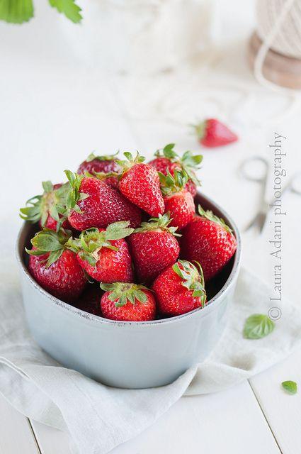 #Fragole | Strawberries, via Flickr.    www.lauraadani.com #food #styling