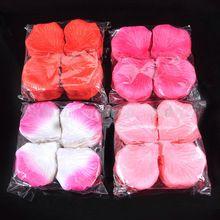 Nieuwe aankomst 1000 x kunstzijde stof roze bloemblaadjes bruiloft bruids partij decoratie, gratis verzending en daling van de scheepvaart(China (Mainland))