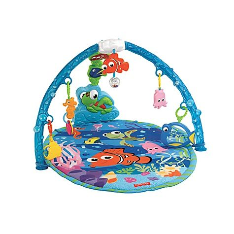 A baby gym provides visual and tactile stimulation and also promotes tummy time, which is vital to upper body development and strength, contributing to fine and gross motor skills.