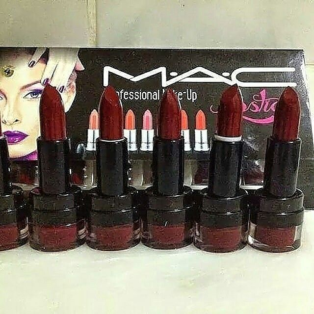 Mac bordo Ruj = 7 tl  Whatsapp 05533238340