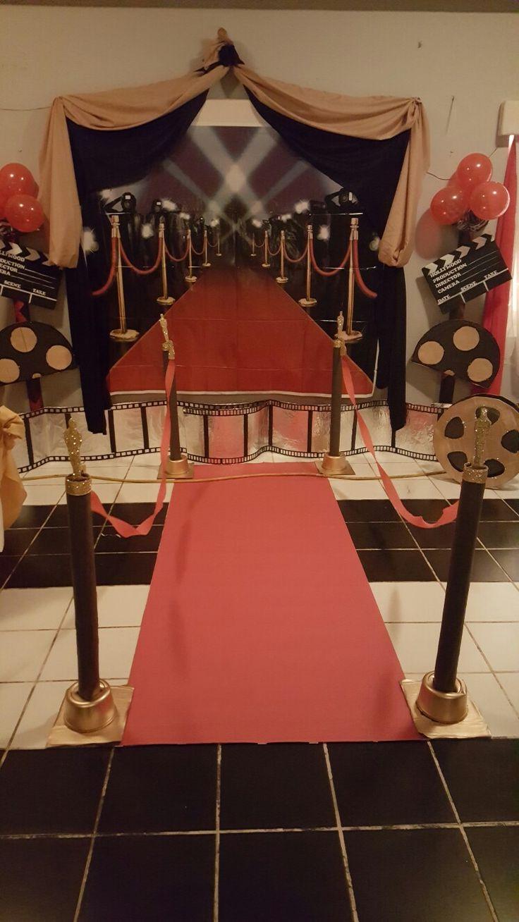 parties star decor of theme elegant birthday pinterest movie hollywood decorations party