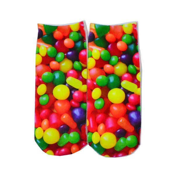 Assorted Candy Ankle Socks