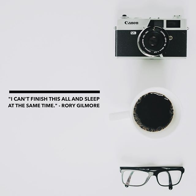 camera's, coffee, glasses and gilmore girls <3 @darien.funk