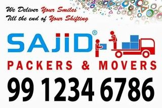 Sajid packers and movers 99 1234 6786 Welcome's to The best movers and packers service provider of House hold goods. You get service quality that starts the minute you call. http://www.sajidpackersandmovers.in http://www.sajidpackersandmovers.com