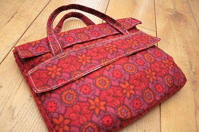 Un tutoriel pour faire un sac à ordinateur portable. - Elkalin-Broderie machine gratuite-Couture facile-